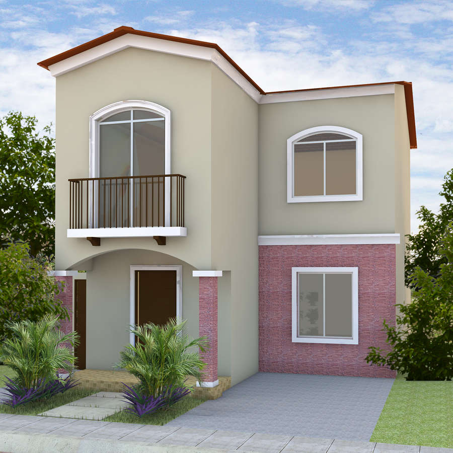 Villa italia casas en guayaquil for Modelos de casas bonitas y economicas